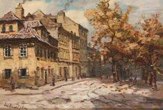 Painting by Azat Galimov Mountain Bulgaria, town of Elena. View of the Assumption church. Fine Art Drawing, Art Drawings, Assumption Church, Lawrence Alma Tadema, Amazing Paintings, Wall Collage, Vintage Art, Scenery, Watercolor