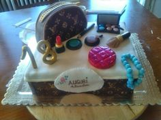 Louis Vuitton's cake Louis Vuitton Cake, Birthday Cake, Cakes, Desserts, Food, Birthday Cakes, Meal, Deserts, Essen