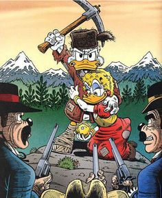 Scrooge and Goldie by Don Rosa
