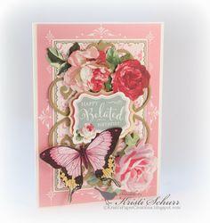 My Sheri Crafts Challenge- Pink And Pretty