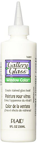 Gallery Glass Window Color (8 Ounce), 16081 Crystal Clear  #16081CrystalClear #ArtsandCraftsSupplies #GalleryGlassWindowColor(8Ounce) #Notions-InNetwork
