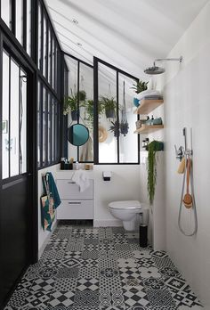 If you have a small bathroom in your home, don't be confuse to change to make it look larger. Not only small bathroom, but also the largest bathrooms have their problems and design flaws. Budget Bathroom Remodel, Bathroom Remodel Cost, Modern Bathroom, Diy Bathroom Remodel, Bathroom Renovations, Dream Bathroom, Bathroom Decor, Bathroom Renovation, Bathroom Inspiration