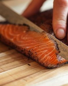 LAPSANG SOUCHONG-CURED SALMON [thetastingtable]