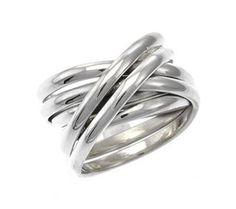 M. LINE ring - Mila Silver