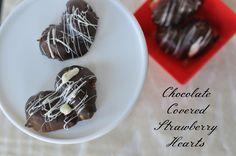 Chocolate Strawberry Hearts - My Suburban Kitchen