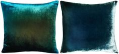 The only thing better than a turquoise pillow is an iridescent turquoise pillow.