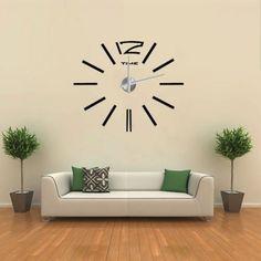 3D Nalepovací nástěnné hodiny - 12S003
