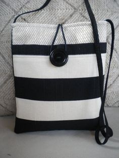 Sling and Simple Crossbody Shoulder Travel Bag/ Messenger Bag by Maycascollection on Etsy, $18.00
