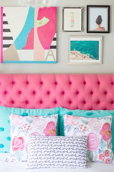 Teen bedroom makeover | The Decor Fix