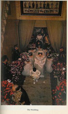 Le mariage de Mohammad Reza Pahlavi, Chah d'Iran avec Farah Diba le 21 décembre…
