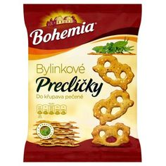 Bohemia Preclíčky bylinkové 70g Snack Recipes, Snacks, Chips, Food, Bohemia, Snack Mix Recipes, Appetizer Recipes, Appetizers, Potato Chip