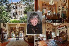 Homes of famous writers - I could be happy living in Anne Rice's home :)