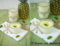 Pineapple Sorbet from @Jean | Lemons and Anchovies