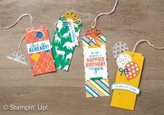 Balloon Adventures stamp set, Stampin' Up!