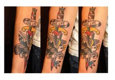 Eagle Dagger Tattoo Image