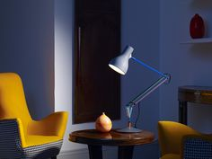 Paul Smith Designs Second Edition of Popular Anglepoise Type 75 Desk Lamp  Read Entire Article at: http://designlifenetwork.com/paul-smith-lights-up  #Anglepoise #PaulSmith #lighting #Lamps #Desklamp