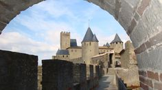 This is a glimpse of amazing Carcassonne - a medieval city in southwestern France. Step back in time when you walk through these extensive ruins that are very much intact.