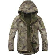 Tactical Jacket Soft Shell TAD V 5.0 Waterproof - Windproof