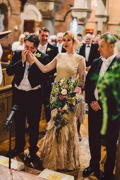 HOME & GARDEN: Joli mariage : Ambiance rétro - Michael & Naomi