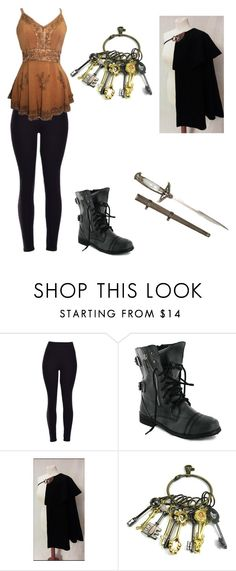 """""""Fairy Tail"""" by thelittlefanthatcould ❤ liked on Polyvore featuring CO"""