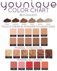 I love using all of my products. During the week I prefer using my BB Cream and my Mineral Concealer. On the days where I'm really dressing up I use my Touch Cream Foundation and Touch Powder. https://www.youniqueproducts.com/RebeccaRechelleAdams/products/landing