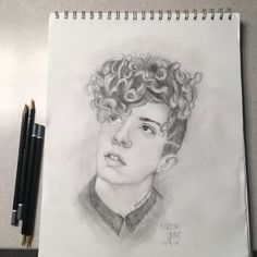 drawing of Jack Avery! Drawing Tips, Painting & Drawing, Really Cool Drawings, Why Dont We Imagines, Why Dont We Band, Jack Avery, My Sunshine, Cool Bands, Art Drawings
