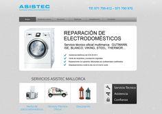 Asistec. Servicio técnico en Mallorca. Diseño web Dipixel. http://www.dipixel.es/portfolio-diseno-web-barcelona/