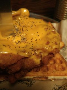 강남 맛집-더블트러블, 치킨 와플-chicken&waffle, korea gourmet
