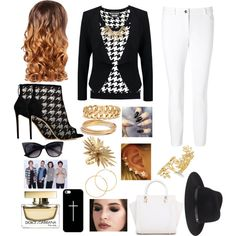 Going to lunch with my friends and one direction to have fun by fashion21diva on Polyvore featuring moda, Boutique Moschino, Patrizia Pepe, ESCADA, Nicholas Kirkwood, Rosantica, Bar III, Madewell, Alexis Bittar and Melissa Odabash