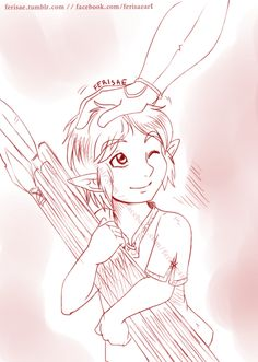 """""""Keep being diligent, and maybe one day you'll get to be a soldier!"""" Sketch of today! Hyrule Warriors!Link cutest baby errand boy."""
