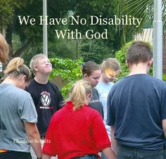 """book """"We Have No Disability With God"""""""