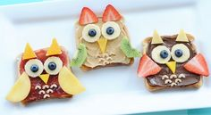 Breakfast is a nutritious and adorable affair when you turn toast into delicious little owls!