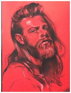 #gotthee # beard # artwork #drawing # pogonophile