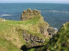 Robert the Bruce birthplace-Turnberry Castle, Carrick