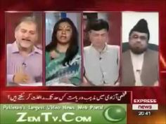 Marvi Sarmad Supporting Homo Sexuality on Tv