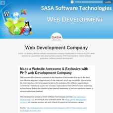 SASA Software Technologies - Web Development Company In India. Seo Services Company, Web Development Company, Design Development, Software Development, Professional Web Design, Pictures Of The Week, Mobile Application Development, Business Organization, Best Web