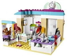 Dyrlægeklinik - Lego 41085 Friends Shop - Eurotoys - Legetøj online