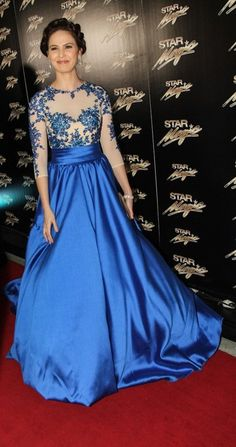 Kristine Hermosa at the Star Magic Ball 2013 - Gown by Edwin Tan