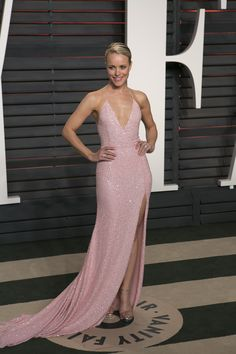 Every 2016 Oscars After-Party Dress You Need to See via @WhoWhatWear | On Rachel McAdams: Naeem Khan gown; Stuart Weitzman heels.