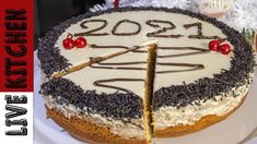 Η Καλύτερη Βασιλόπιτα του 2021!! Live Kitchen | Amazing Christmas Cake 2021 - YouTube Vasilopita Cake, Greek Sweets, New Year's Cake, Sponge Cake, Greek Recipes, Dear Santa, Kitchen Living, Tiramisu, Food To Make