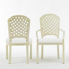 lattice arm + side chair by beeline home