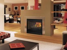 See through Fireplace | ... Photos of the Why See Through Electric Fireplace is Very Good Choice