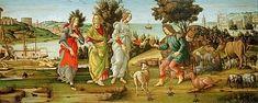 Sandro Botticelli Most Famous Paintings, Sistine Chapel, Italian Painters, Sandro, Painting Frames, Renaissance, Fine Art Prints, Rome, Rome Italy