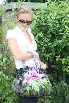 Extraordinary, fabulous handbags Catherine Tasminskoy. |Flower Paradise. ♡