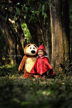 Little red riding hood,  Baby & kid photography