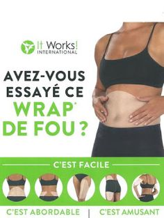 It really works! Shoot me a message for more info! It Works Wraps, My It Works, It Works Greens, Double Menton, It Works Global, Ultimate Body Applicator, Defining Gel, Crazy Wrap Thing, Body Wraps