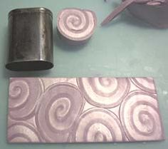 Shell with Mica Shift  ~ Polymer Clay Tutorials