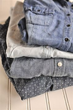 If you haven't received the memo, a chambray is one of the coolest must-haves for collegiettes. Wait, a cham-what?