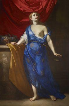 Artemisia Gentileschi, Cleopatra (circa Courtesy of Galerie G. Cleopatra, Orazio Gentileschi, Henrietta Maria, Saint Catherine Of Alexandria, Ptolemaic Dynasty, The Royal Collection, Italian Painters, Caravaggio, Baroque Fashion