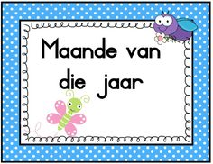 Goggas: Dae van die week en Maande van die jaar Owl Classroom, Preschool Classroom, Classroom Decor, Kindergarten Themes, Kindergarten Lesson Plans, Tracing Worksheets, Preschool Worksheets, Classroom Organisation, Classroom Management